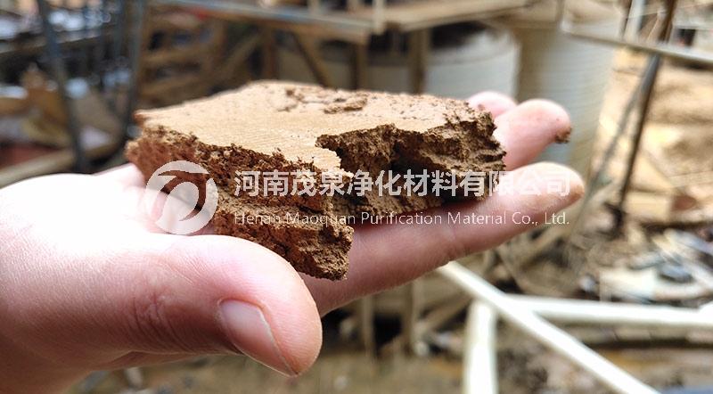 福建省泉州市洗沙厂水处理客户现场